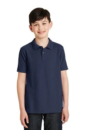 Youth Short Sleeve Academic Polo