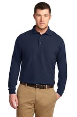 Men's TALL Academic Long Sleeve Polo