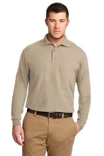 Carpentry Men's Long Sleeve Polo