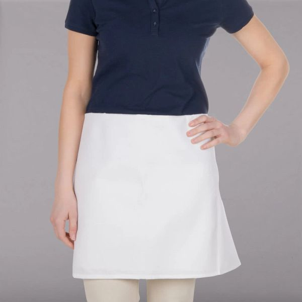 Culinary 4-Way Apron in White
