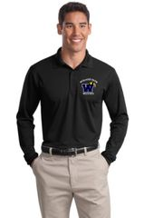 Men's Long Sleeve Sport Wicking Polo
