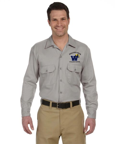 Collision Repair Long Sleeve Work Shirt
