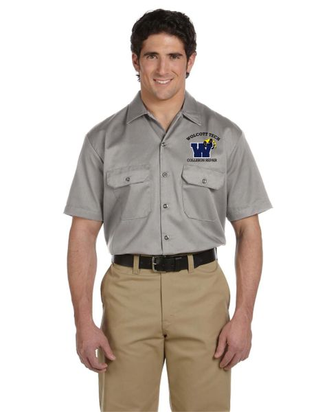 Collision Repair Short Sleeve Work Shirt