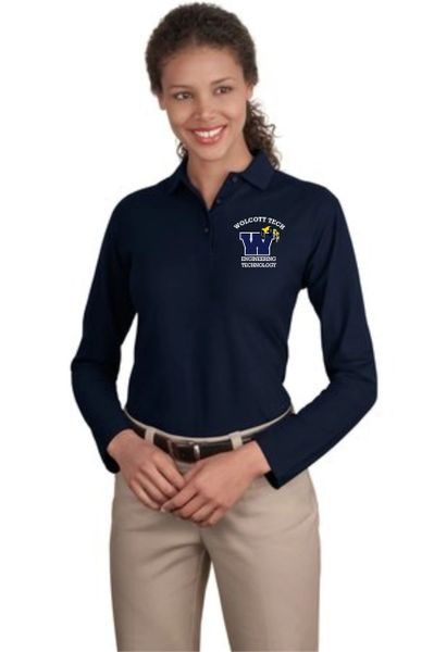 Engineering Technology (CADD) Ladies Long Sleeve Polo