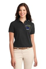 Graphics Ladies Short Sleeve Polo