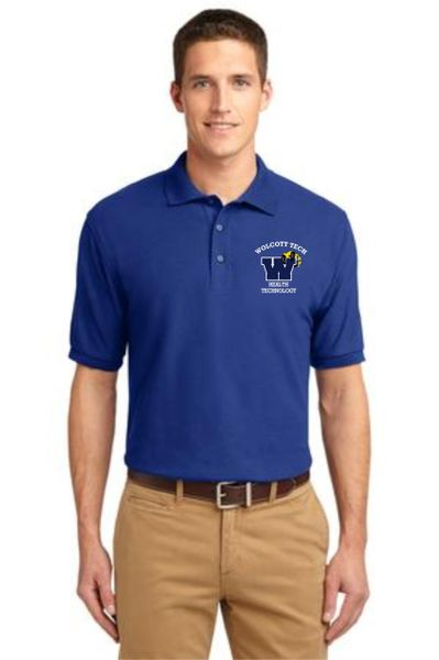 Health Tech Men's Short Sleeve Polo