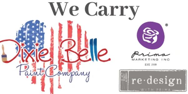 Winston Home Designs carries Dixie Belle Paint Company, re.design with prima, & DIY supplies.