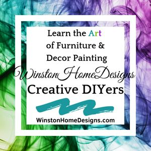We teach you step by step how to upcycle your outdated furniture & decor!