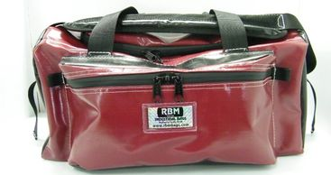 RBM Gear Bags in two sizes, medium and large.