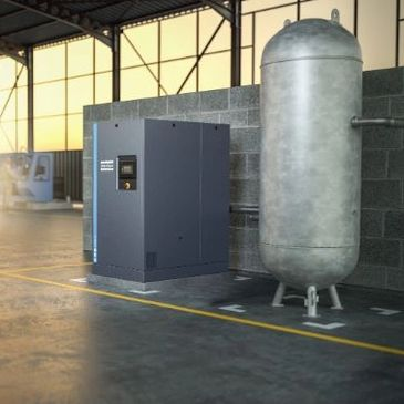 Atlas Copco Industrial Air Compressor