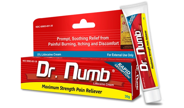 Dr Numb The Most Strongest and Safest Numbing Cream UK 30 ...