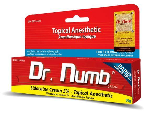 Dr Numb Numbing Cream 30 grams UK | Numb Expert ...