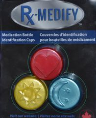3 pack – Red, Yellow & Blue
