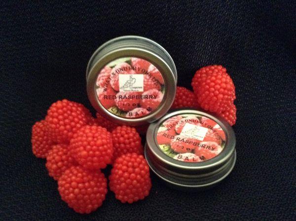 Red Raspberry Lip Balm