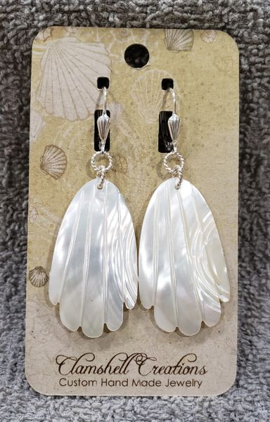 Aboloni Earrings white