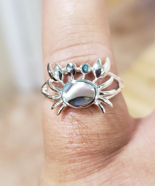 Abalone Crab Ring