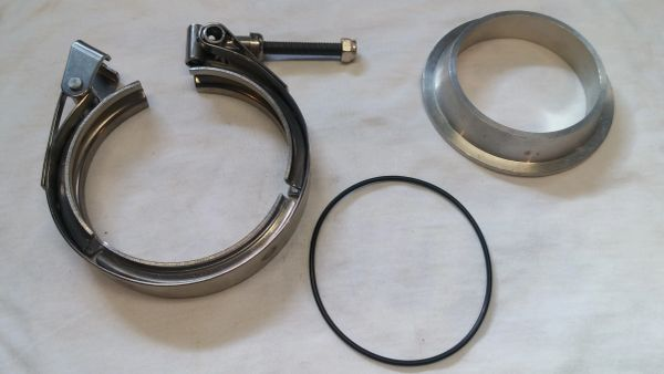 S400 Compressor Outlet Flange and Clamp
