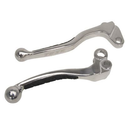 Grip Lever Set Black HONDA