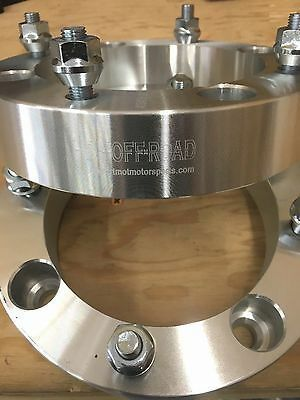 HDM Textron Tracker 700 wheel spacers 4/115 with 10mm x 1.25 studs