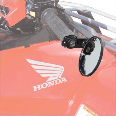 Tusk Handlebar-End Mirror Atv and Motorcycle