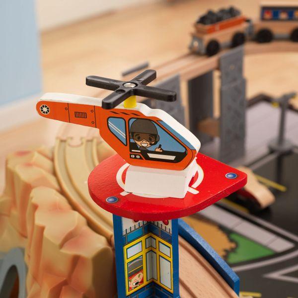 Kidkraft Metropolis Train And Table Set Kids Beds