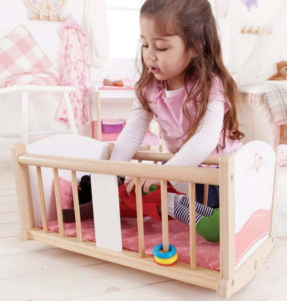 Hape Rock A Bye Baby Cradle Kids Beds Canada Christmas