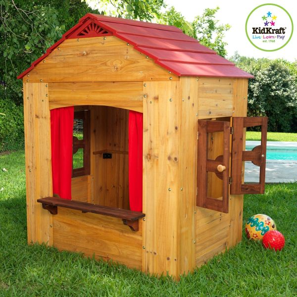 Kidkraft Outdoor Playhouse Kids Beds Canada Christmas