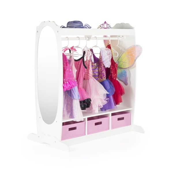 Guidecraft Dress Up Storage White Kids Beds Canada