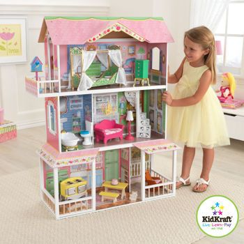 Kidkraft Sweet Savannah Dollhouse Kids Beds Canada