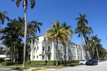 Charter flights from Palm Beach, FL to Key West, FL, Brazilian Court Hotel, Palm Beach In Town