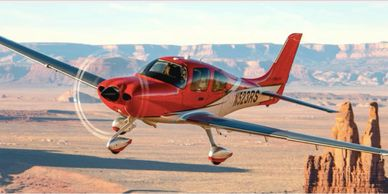 Cirrus SR-22, Cirrus SR-22, charter flights, private jets