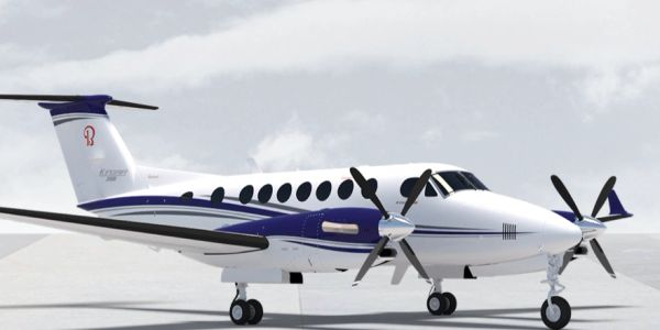 King Air aircraft, King Air 90, 100, 200, 350, charter flights, private jets