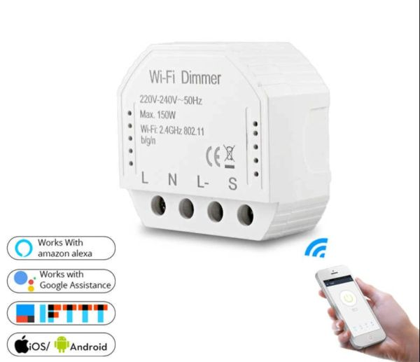 Retro-Fit WIFI dimmer module smart light dimmer module APP mobile phone control 150W