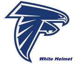 Danvers Lacrosse Helmet Stickers