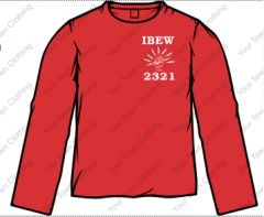 Local 2321 Long Sleeve T-Shirt
