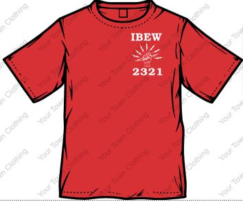 Local 2321 Short Sleeve T-Shirt