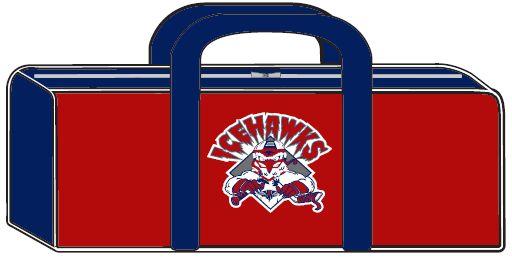 Ice Hawks Hockey Bag