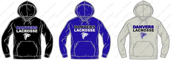 Danvers Lacrosse Hooded Sweatshirt
