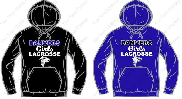 Danvers Girls Lacrosse Hooded Sweatshirt