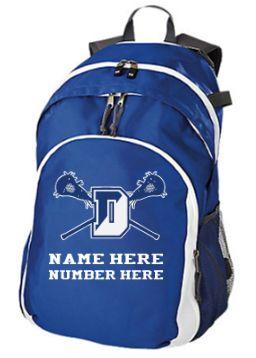 Danvers Lacrosse Back Pack