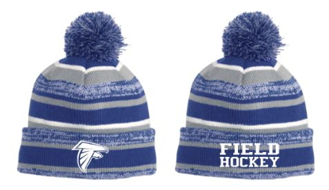 DHS Field Hockey Pom Pom Winter Hat
