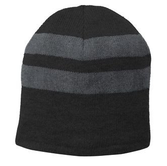 Pentucket Youth Lacrosse Fleece Lined Striped Beanie Winter Hat