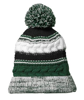 Pentucket Youth Lacrosse Pom Pom Team Beanie Winter Hat