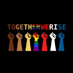 TOGETHER WE RISE shirt by Sousa Machado