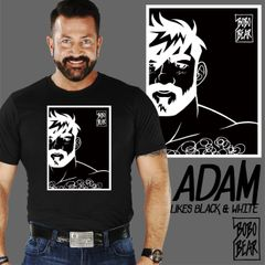 Adam Likes Black and White by Bobo Bear