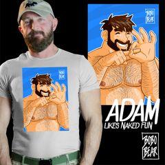 Adam Likes NAKED FUN by Bobo Bear