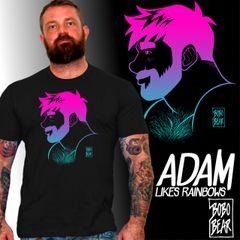 Adam Likes Rainbows by Bobo Bear