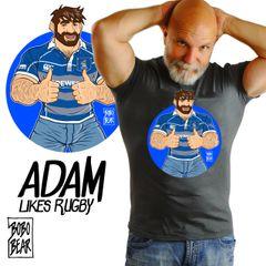 Adam Likes Rubgy by Bobo Bear