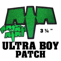 Ultra Boy Embroidered Patch