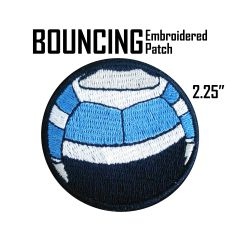 Bouncing Boy Embroidered Patch